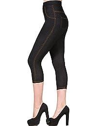 Amazon.fr   jeans - Leggings   Femme   Vêtements 452b58a48e7