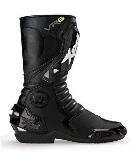 XPD - Stivali da Moto VR6, Nero, 45