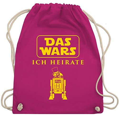 JGA Junggesellenabschied - Das Wars JGA Ich Heirate - Unisize - Fuchsia - WM110 - Turnbeutel & Gym Bag