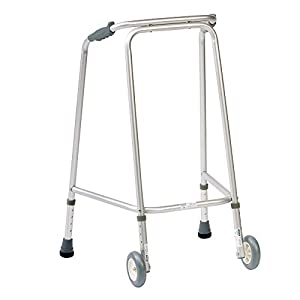 NRS Walking Frame (Wheeled) Adjustable Height