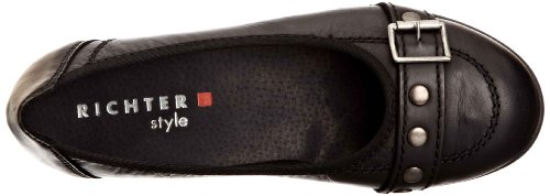 Richter Shoes Diva, Chaussures fille Noir-V.6