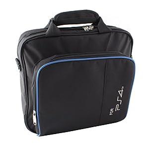 SYMTOP Schwarz Tragetasche Reisetasche für elektronisches Zubehör Wie PlayStation4 PS4