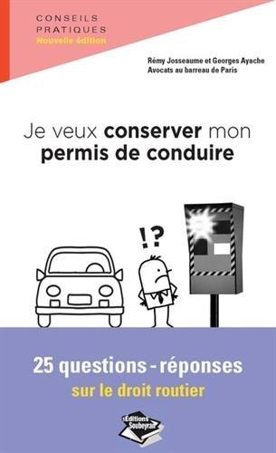 Je veux conserver mon permis de conduire