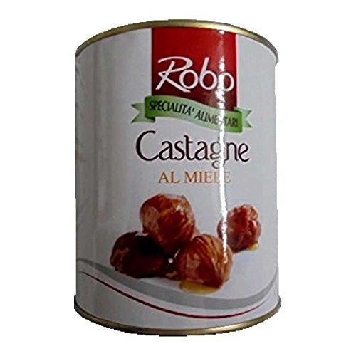 GR 880 CASTAGNE AL MIELE CASTAGNA ALLO SCIROPPO CHESTNUT HONEY CHESTNUTS IN SYRUP