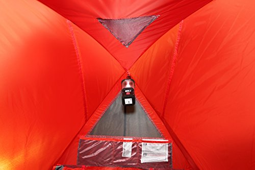 High Peak Pop Up Zelt Swift 3, Rot/Grau/Schwarz, 10143 -