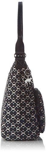Kipling - Tasmo, Borse a spalla Donna Multicolore (Soft Geo)