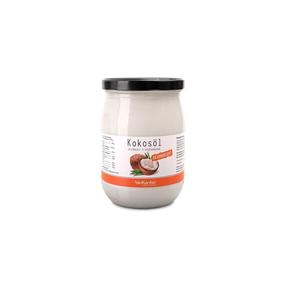 Biokontor Bio Kokosl Mild Geschmacks U Geruchsneutral 1000ml Im Glas