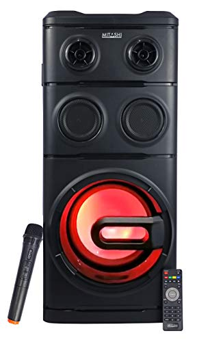 Mitashi PS 10080 BT Portable Party Tower Speaker System (Black)