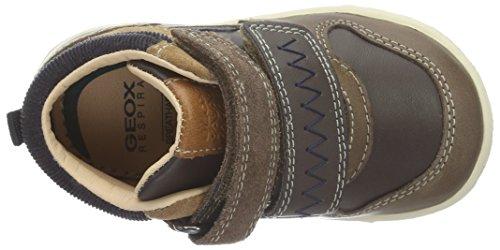 Geox B Flick C, Chaussures Marche Bébé Garçon Braun (DK BROWNC6006)