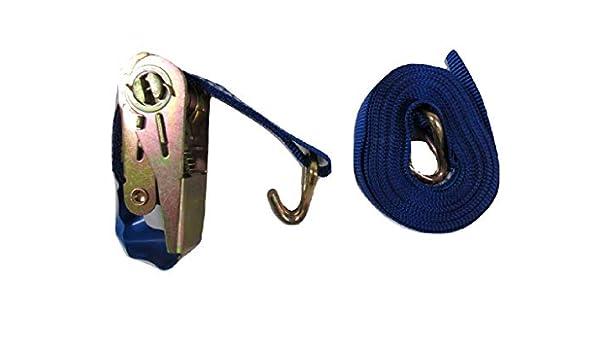 35MM Ratchet Strap 6M 3 Ton Lashing with J Hook