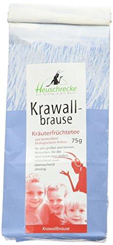 Heuschrecke Bio Tee Krawallbrause, 75 g