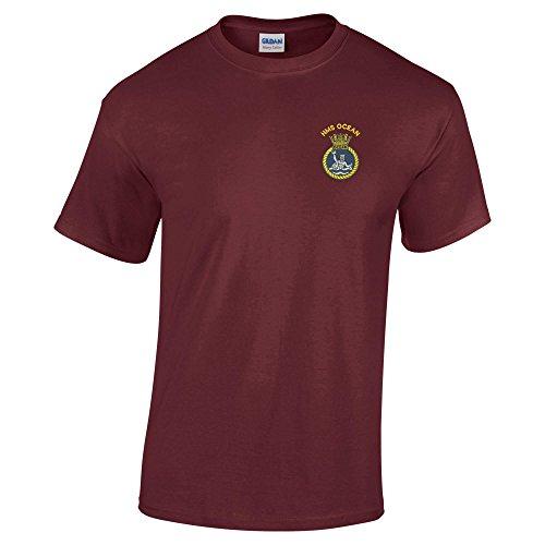 Pineapple Joe'sHerren T-Shirt burgunderfarben