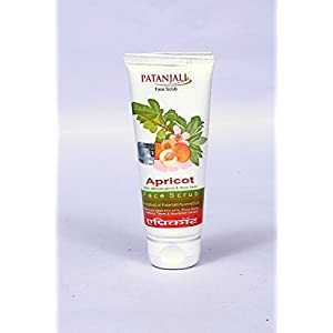 Patanjali Aloe Vera Apricot Scrub Tube pack of 2