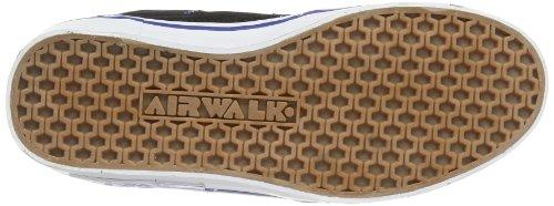 Airwalk TIME JR 253550-43 Jungen Sneaker Schwarz ((Schwarz/Blau) 82)