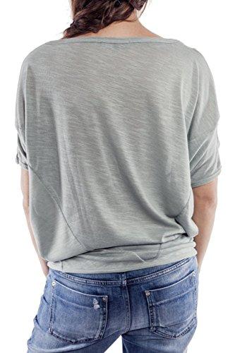 Ella Manue Frauen Oversize Shirt Colette Mint