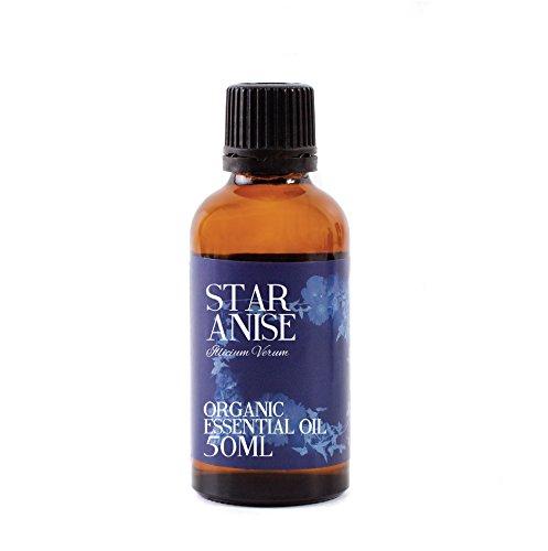 Aceite Esencial Orgánico de Anís Estrellado - 50ml - 100% Puro