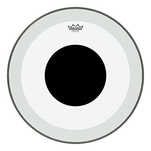 Powerstroke TPR P3transparent schwarz dot Bass Scruggs-Top schwarz dot, 18 Powerstroke P3 Clear Black Dot Bass 22