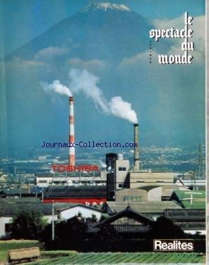 SPECTACLE DU MONDE (LE) [No 278] du 01/05/1985 - LES EVENEMENTS D'AVRIL - SOUS LE PROJECTEUR - UN AVRIL FOU FOU FOU - LES STYLE LEOTARD - A L'OMBRE DES OGIVES - UNE VISITE A TSUKUBA - LES RUMEURS DE HONG KONG - AU CHEVET DU BRESIL - LES ROBINSONS DE LA DISSUASION - LES ECRANS DELAISSES - LE DROIT CANON DE L'AN 2000 - LA MEMOIRE DE MAXIME DU CAMP - DE CAPE ET D'EPEE - LES TENTATIONS DE COLETTE - DUCHESSES ET REPORTERS - L'ERREUR DES DARDANELLES - BORDONOVE ET LES ROIS CONSTRUCTEURS - ROBERT SCHUM par Collectif