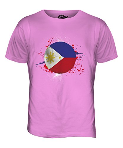 CandyMix Philippinen Fußball Herren T Shirt Rosa