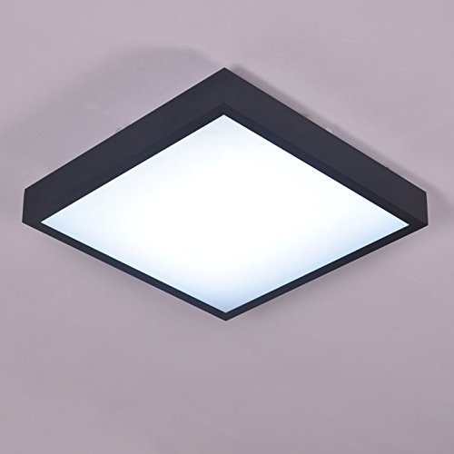 LINA-soffitto lampada LED semplice, quadrato da salotto