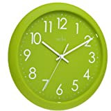 Acctim 21895 Abingdon Reloj de Pared, Color Verde Lima