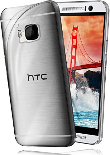 moex HTC One M9 | Hülle Silikon Transparent Klar Clear Back-Cover TPU Schutzhülle Dünn Handyhülle für HTC One M9 Case Ultra-Slim Silikonhülle Rückseite