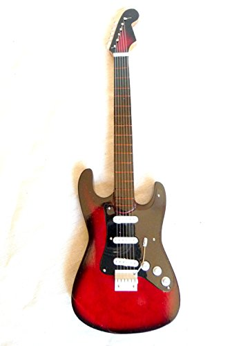 Guitarra en miniatura decorativa Guitarra Guitar Gibson SG Standard 24cm color Rojo # 150