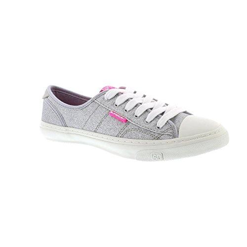topschuhe24, Sneaker donna, grigio (Grau), 39