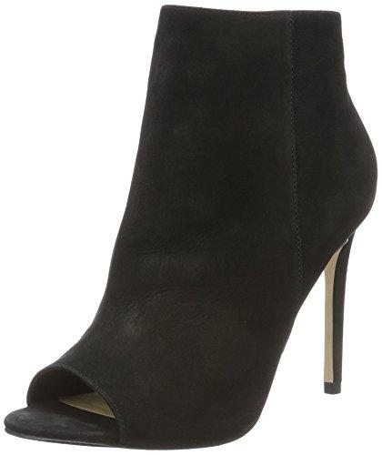 Buffalo London Damen ZS 5730-15 Nobuck Kurzschaft Stiefel, Schwarz (Black 01), 39 EU