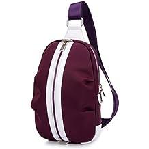 pacco petto Mens Chest Pack Messenger Bag Messenger Borse Oxford Cloth Piccolo Zaino Multifunzione Sport Bag ( Colore : 3# )