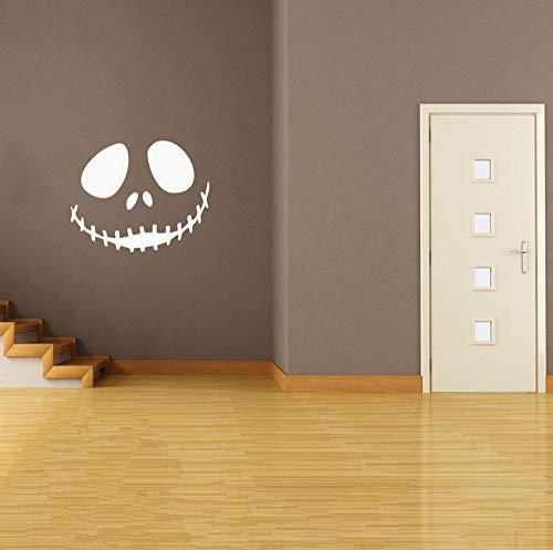 Sgbfz Scary Smile Tapete Happy Halloween Home Haushaltszimmer Wandaufkleber Wandbild Decor Aufkleber Removable New