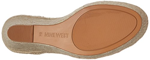 Nine West Joker sintetico Sandali con zeppa Light Natural