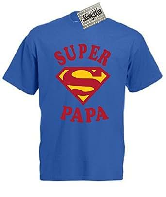super papa t shirt id e de cadeau pour la f te des p res. Black Bedroom Furniture Sets. Home Design Ideas