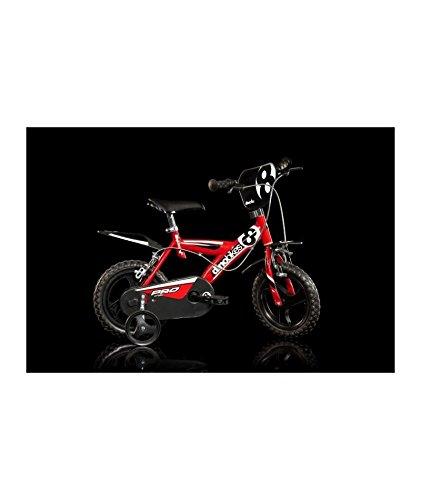 Dino Bikes 123 GLN bicicletta serie 23 con rotelle e freno anteriore per bambini dai 3 ai 5