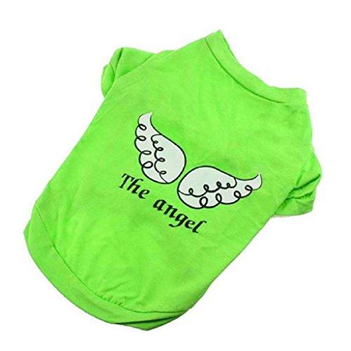 KanLin Hund Haustier Die Engel Weste Ärmellos T-Shirts (XS, (Engel Basic Kostüm)