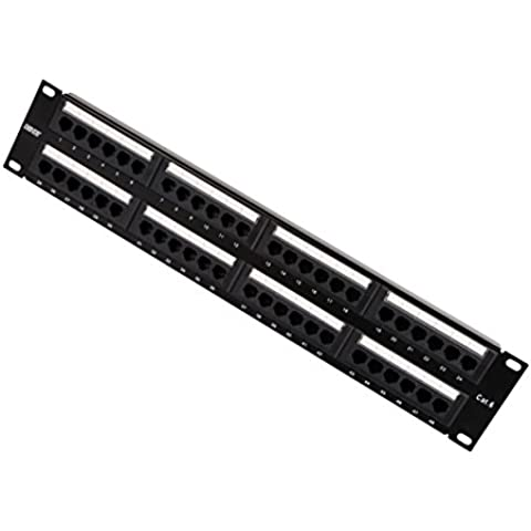 Dshot® 48 port 2U Rackmount WALLMOUNT montabile a rack CAT6