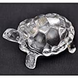 #5: odishabazaar Crystal Turtle Tortoise for Feng Shui and vastu - Best Gift for Career and Luck
