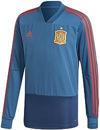 adidas Fef TR Top Camiseta, Hombre, Azul/Rojo (azutri), M