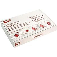 APLI 12280-Forro de libros con solapa ajustable PVC 290 mm 100 u.