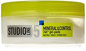 LOREAL PARIS STUDIO LINE 5-NEW MINERAL & CONTROL 24H STRONG HOLD GEL-PASTE 150 ML