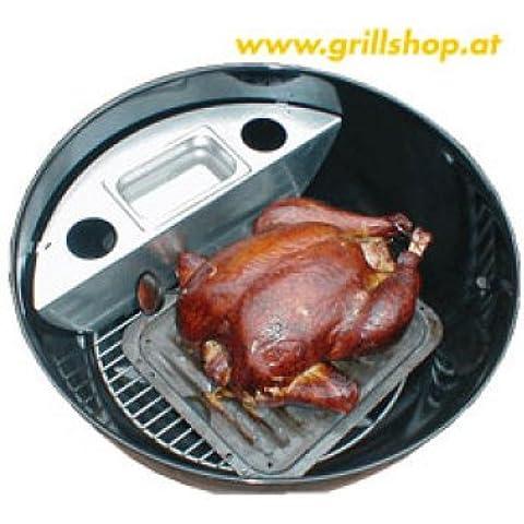 Barbacoa–Ahumador para Weber U. Outdoorchef 57cm Barbacoa de carbón