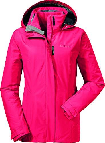 Schöffel Damen 3in1 Jacket Tignes Doppeljacken, Lollipop, 44 Triclimate Ski Jacket