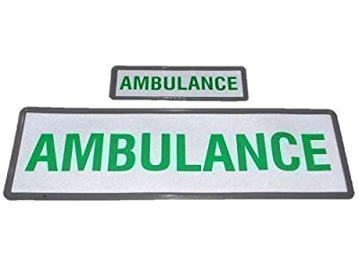 AMBULANCE Reflective Badge Set