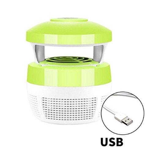 PROKTH Mückenkiller, elektronischer Insektenvernichter Moskito Lichtquelle kein Lärm USB Power Access 5W5V, geeignet für Haus Innen Hof Garten