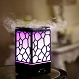 #6: Buyerzone Air Freshener Water Cube Humidifier With LED Night Light For Car Home And Office (Multi Color)