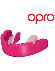 OPRO Braces Fit Mouth Guard Gum Shield - Fits Over Braces For Rugby, Boxing, UFC, Lacrosse, Basketball, MMA, Football, Hockey, Contact Sports