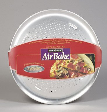 Airbake Natural Large Aluminum Pizza Pan, 15.75in by AirBake Airbake Pizza Pan