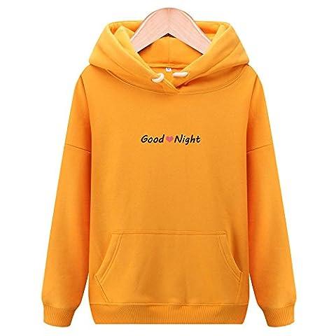 Xuanku Plus Épais Velours Sweater, Même Cap Chers Timbres Vrac Enduire L'Automne Et L'Hiver ,M, Le Curcuma