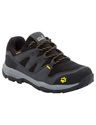 Jack Wolfskin Unisex-Kinder Mtn Attack 3 Texapore Low K Trekking-& Wanderhalbschuhe, Grau (Burly Yellow Xt 3802), 27 EU