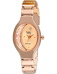 Watch Me Analogue Quartz Branded Rose Gold Watch for Girls and Women